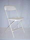 Where to rent CHAIR, Fldng White XL in Medford OR
