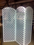 Where to rent DIVIDER, ROOM LATTICE  WHITE in Medford OR
