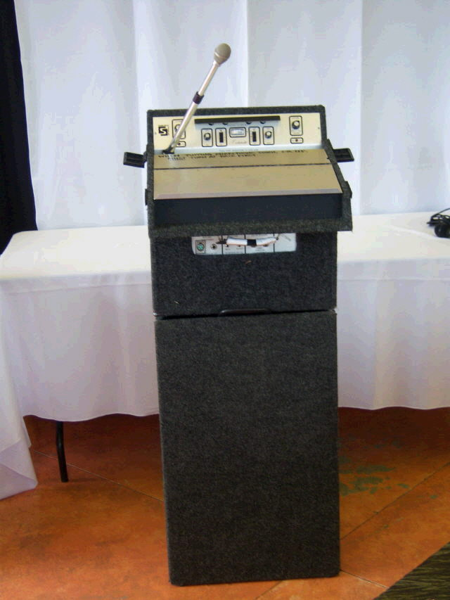 Where to find LECTERN, Portable w  PA Syst in Medford
