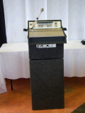 Where to rent LECTERN, Portable w  PA Syst in Medford OR