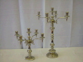 Where to rent CANDLEABRA - Silver 26   tall in Medford OR