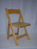 Where to rent CHAIR NATURAL Wood pad DELIVER in Medford OR