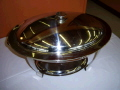 Where to rent Chafer Oval 6qt Stainless in Medford OR