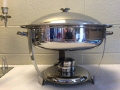 Where to rent Chafer Round 6qt Stainless in Medford OR