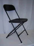 Where to rent CHAIR, Folding  Black in Medford OR