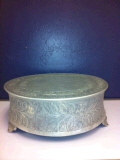 Where to rent CAKE STAND 18  ROUND SILVER in Medford OR